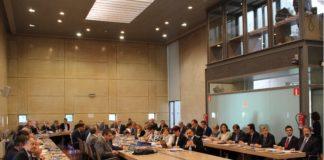 Reunión da CRUE celebrada en 2016 en Compostela.