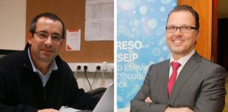 Antonio Salas (esquerda) e Federico Martinón, investigadores da USC.
