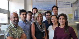 Equipo do Departamento de Química Analítica da Universidade de Vigo. Foto: Duvi.