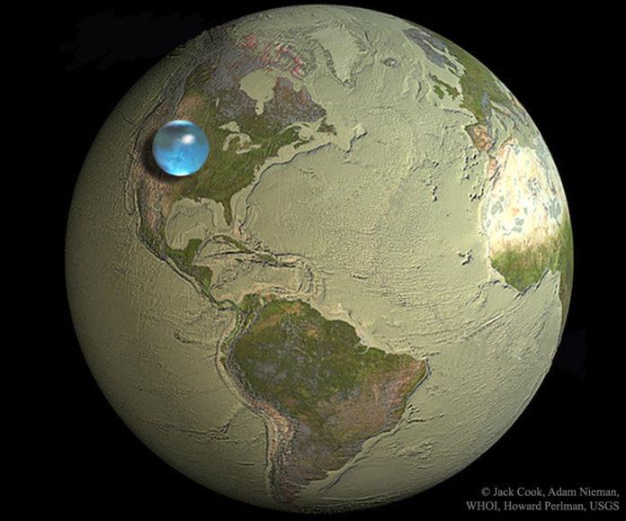 Créditos da ilustración e copyright: Jack Cook, Adam Nieman, Woods Hole Oceanographic Institution, Howard Perlman, USGS