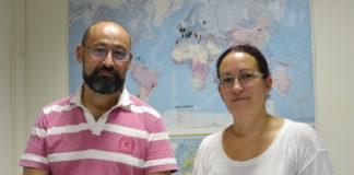 Luis Gimeno e Raquel Nieto.