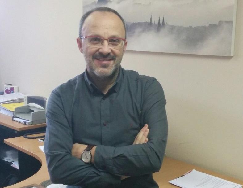 O investigador Varela Mallou, autor do método xunto a Balidea.
