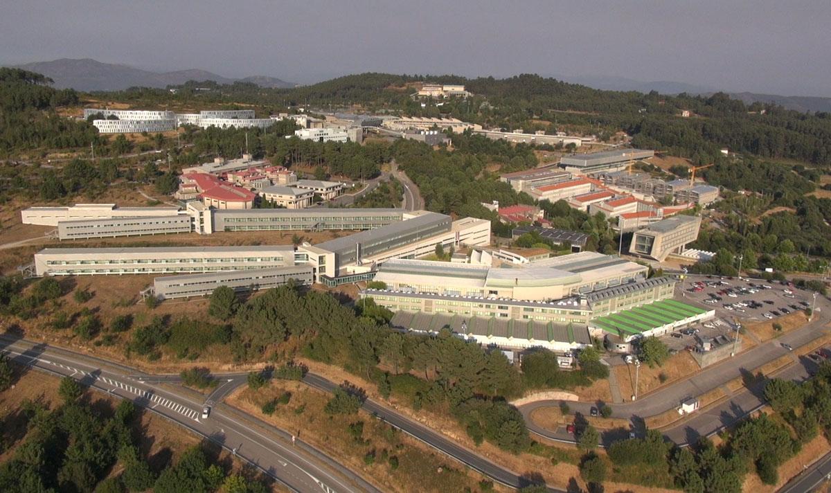 Campus de Lagoas Marcosende, da Universidade de Vigo.