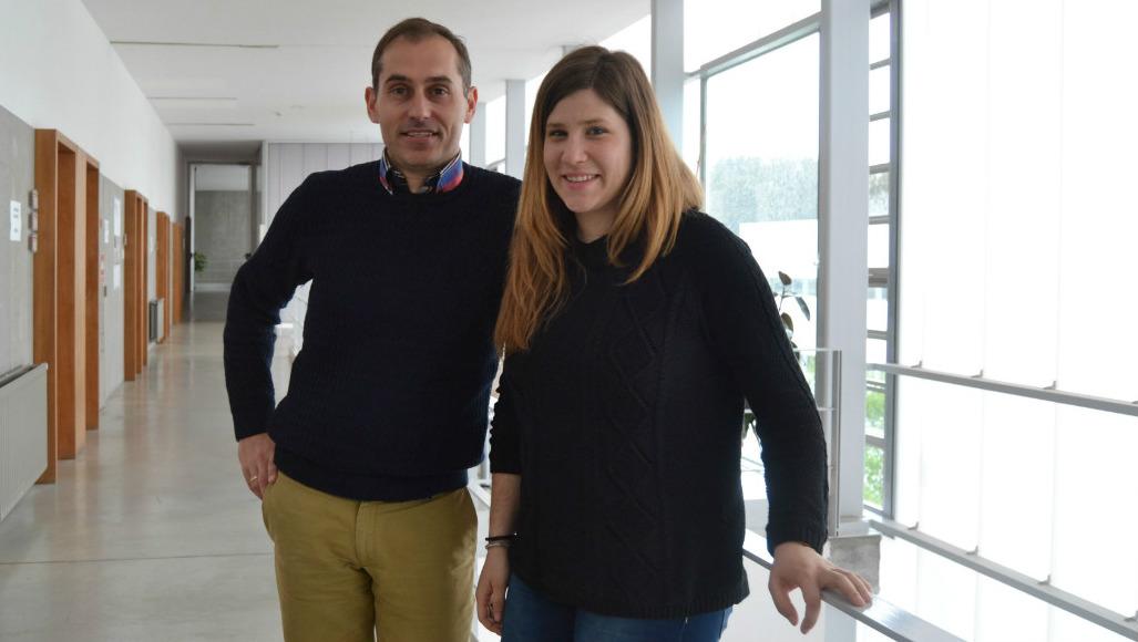 José María Cancela e Irimia Mollinedo son os autores do programa. Foto: Duvi.