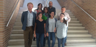 Responsables do proxecto Elisa con colaboradores de Suecia e Holanda. Foto: USC.