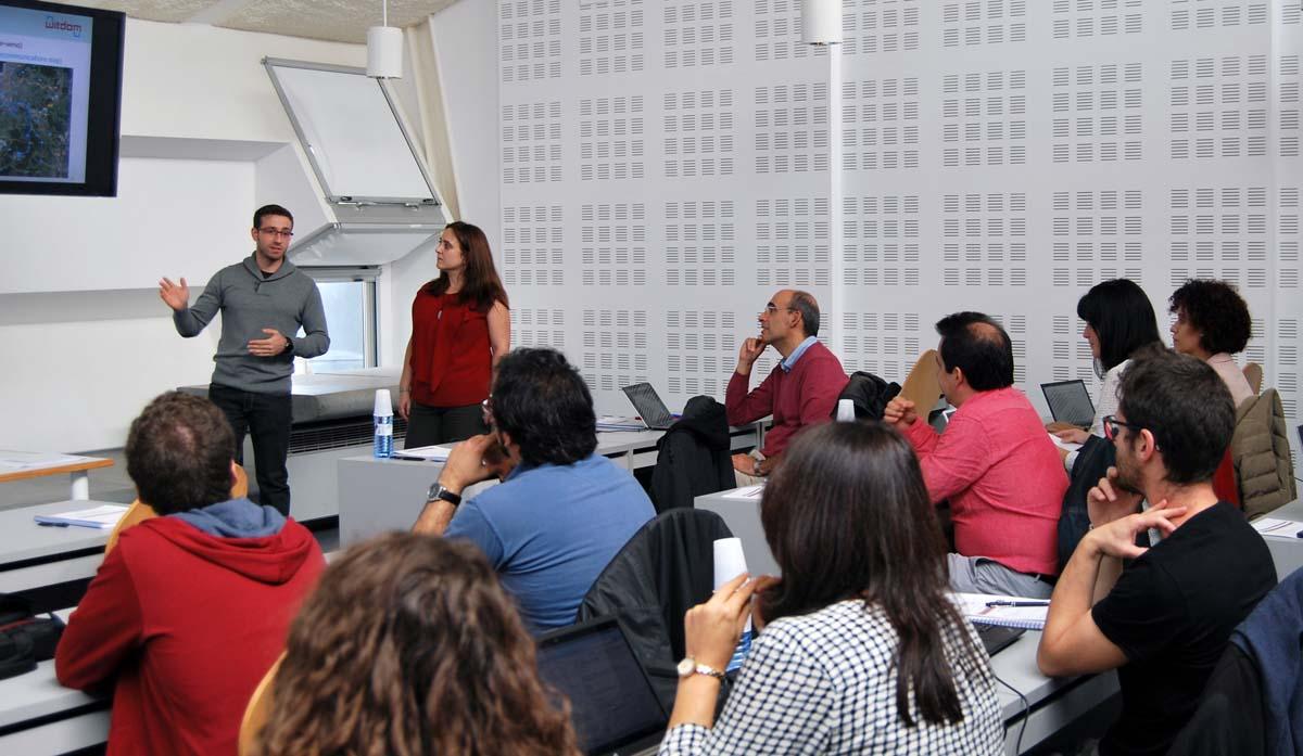 Reunión do proxecto Witdom en Vigo.