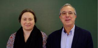 Juan José Nieto Roig e Rosana Rodríguez López.