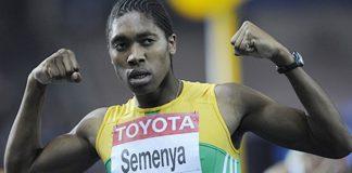A atleta sudafricana Caster Semenya, que foi sometida a análises de xénero.