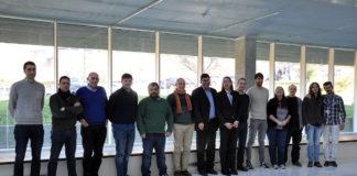 Os representantes do consorcio, durante unha xuntanza. Foto: Duvi.