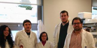 Investigadores do grupo de Bioloxía Funcional. Foto: USC.