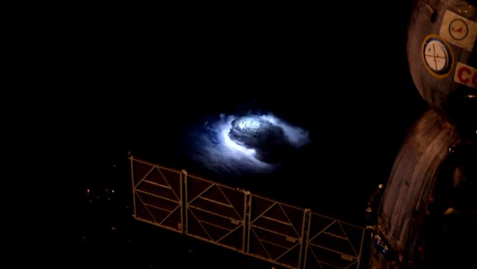 Os científicos debateron durante anos sobre a existencia do fenómeno agora descrito por científicos do IAA. Foto: Andreas Mogensen.