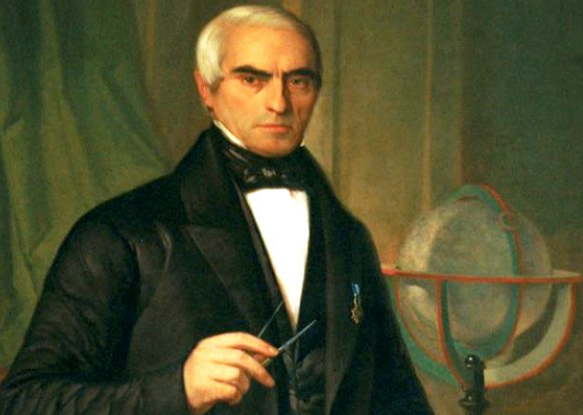 Fontán, retratado por Antonio María Esquivel en 1852.