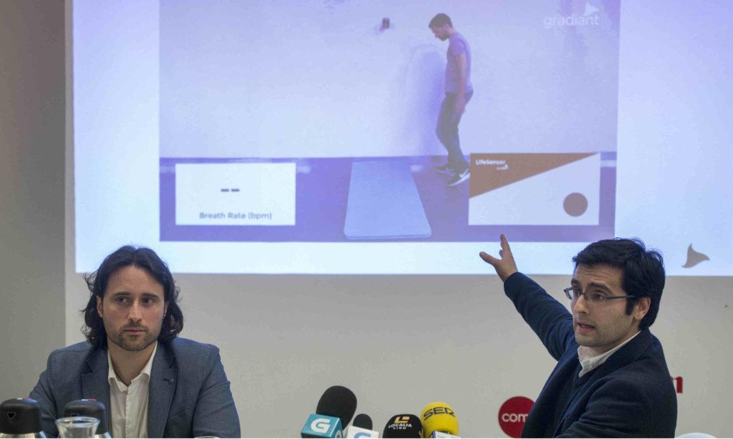 Luis Pérez Freire, director xeral, e Jorge Munir el Malek Vázquez, director de comunicacións.