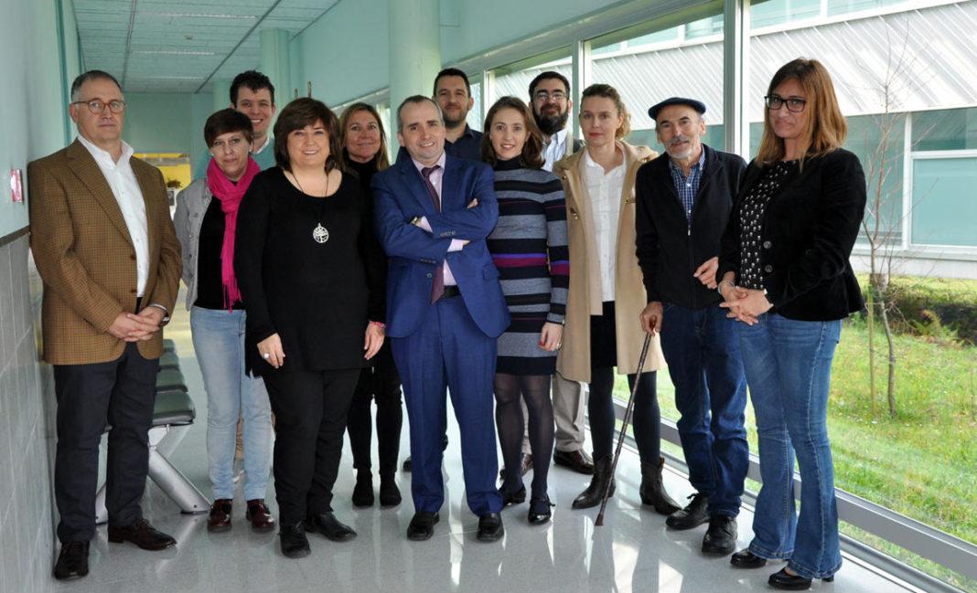 Participantes na presentación do proxecto LitterDrone. Foto: Duvi.