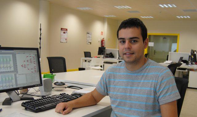 Tomás Teijeiro, investigador do CiTIUS e autor principal do traballo.