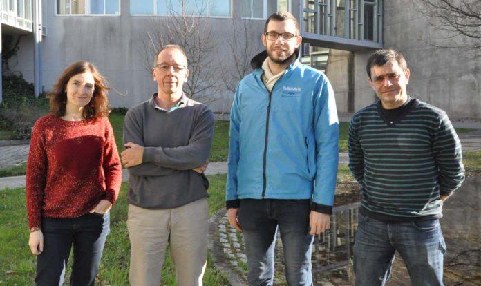 Equipo do Grupo de Oceanografía Física da Uvigo que participa no proxecto. Foto: Duvi.