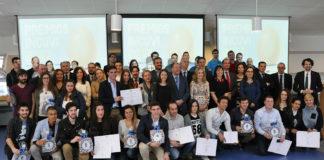 Gañadores da sexta edición do Incuvi-Emprende. Foto: Duvi.