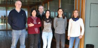 Equipo do Grupo de Tecnoloxías Multimedia da Uvigo. Foto: Duvi.