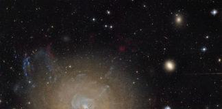Créditos da imaxe: Hubble Legacy Archive, ESA, NASA; Procesado e copyright: Domingo Pestana