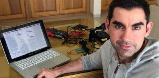 Óscar Sampedro, un dos investigadores do aparato