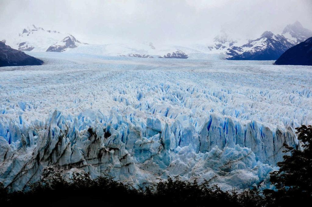 Glaciar na Terra do Fogo (Arxentina).