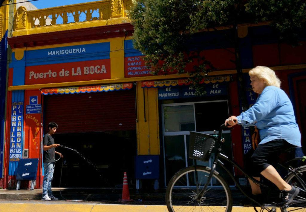 Barrio de La Boca (Buenos Aires).