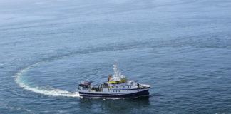O buque do IEO partíu hoxe do porto de Vigo Foto: IEO