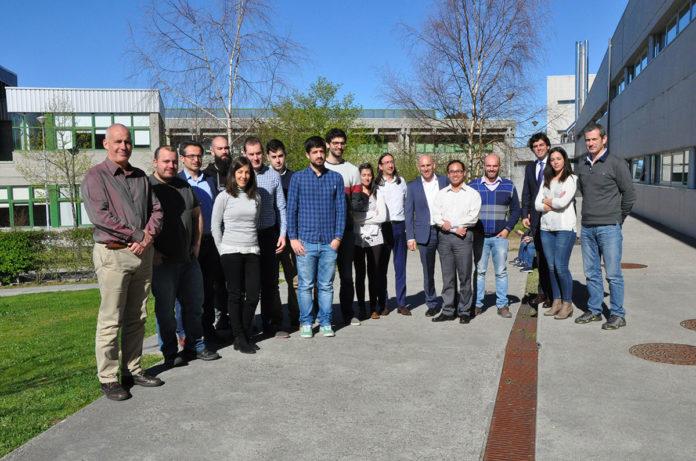 Investigadores dos grupos Geotech e GTE. Fotos: Duvi.