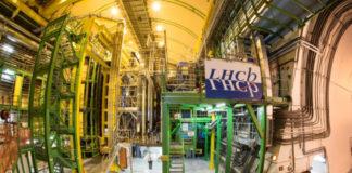 Instalacións do Gran Colisionador de Hadróns (LHC) en Suíza.