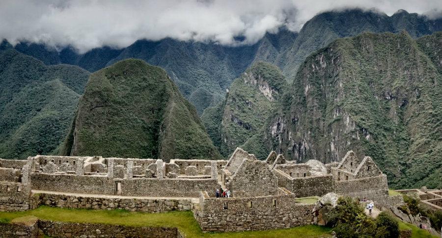 Macchu Picchu, en Perú.