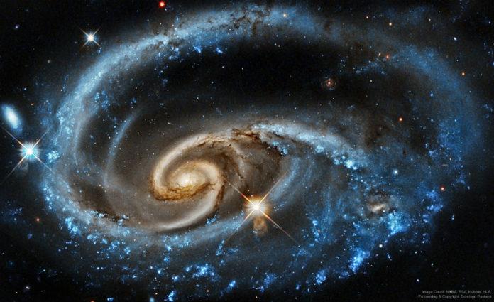 Créditos da imaxe: NASA, ESA, Hubble, HLA; Procesado e copyright: Domingo Pestana