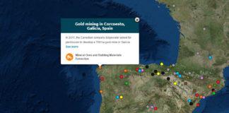 Cada punto no mapa representa un conflito. Fonte: Enviromental Justice Atlas.