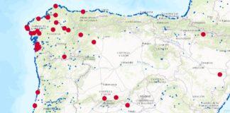 """Galicia acumula máis da metade das zonas de baño con calidade """"insuficiente"""" en todo o territorio estatal. Fonte: Quality of European bathing waters in 2016."""