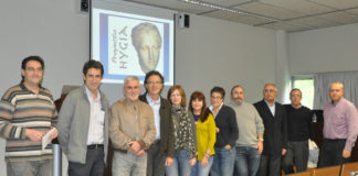 Comité científico da UVigo que coordina o proxecto Hydra. Foto: Duvi.
