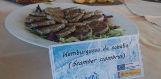 Hamburguesas de xarda presentadas no proxecto. Foto: Arvi Innovapesca (Twitter).