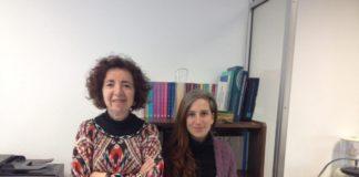 Marilar Aleixandre e Sabela F. Monteira. Foto: USC.