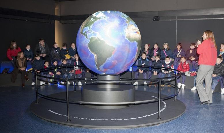 Oceanoesfera do Aquarium Finisterrae.