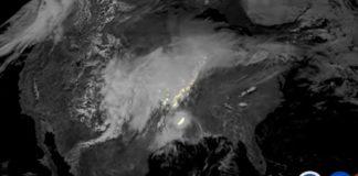 Créditos da imaxe: NOAA, NASA, Lockheed Martin, GOES-16, GLM