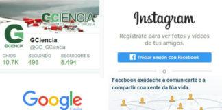Algunhas redes sociais aínda non ofrecen a oportunidade de empregar o galego.