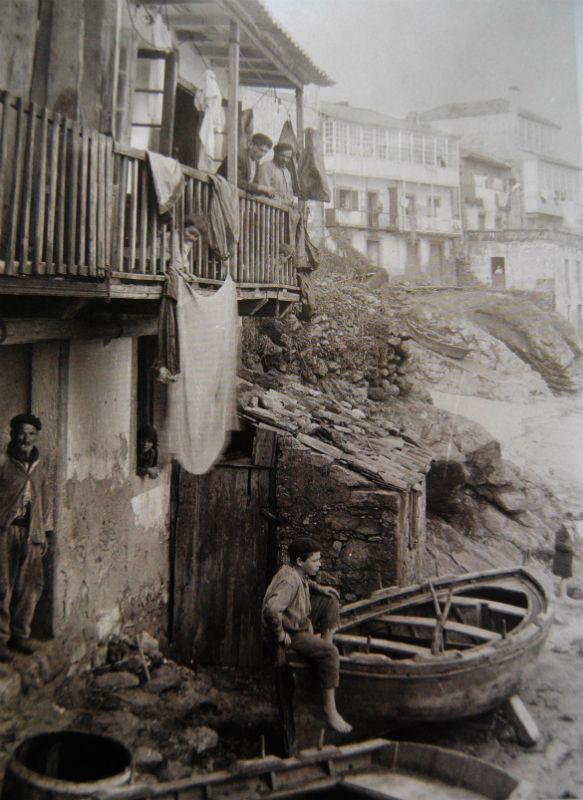Casa do pescador Álvaro Martínez, en Fisterra.