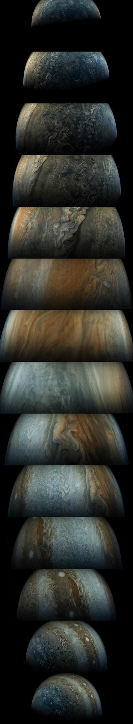 Créditos da imaxe: NASA, Juno, SwRI, MSSS, Gerald Eichstadt, Sean Doran