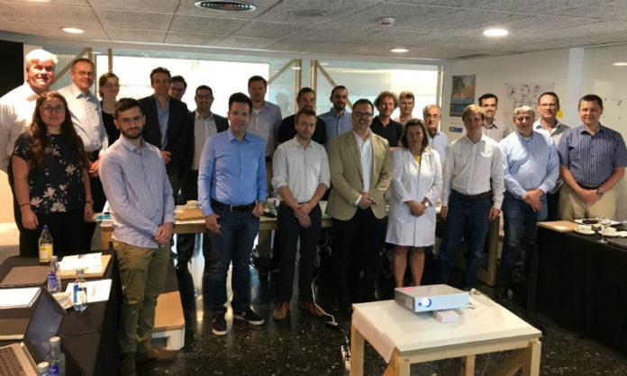 Grupo de traballo do proxecto PoC-ID, en Santiago de Compostela. Foto: IDIS.