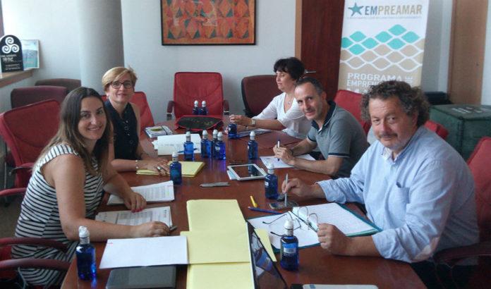 Reunión do xurado que selecciounou os proxectos de Empreamar. Foto: Duvi.