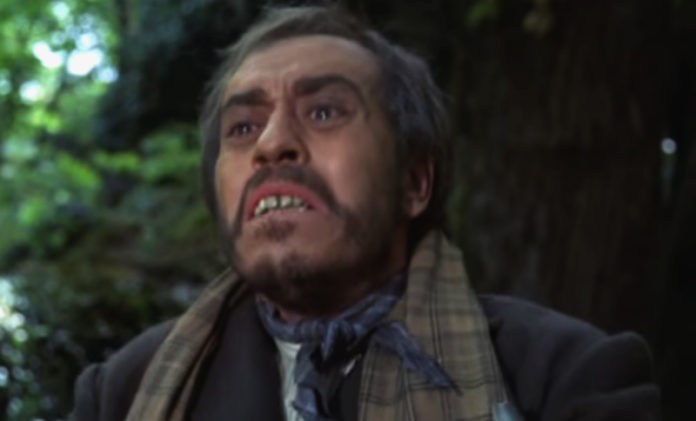 José Luis López Vázquez interpretou a Benito Freire, personaxe inspirada en Romasanta, no filme de Pedro Olea
