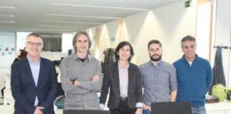 Investigadores de Quimolmat. Foto: UDC.