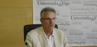 Luis Romaní, durante a homenaxe. Foto: Duvi.