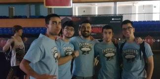 Integrantes dos Thunders da UVigo. Foto: Duvi.