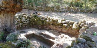 Escavacións no castro de Armea, en Allariz.