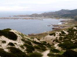Esta zona de costa foi testemuña de centos de naufraxios. Imaxe: Manuel Rey.