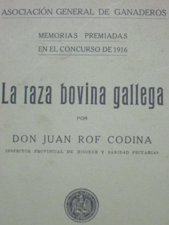 Portada da obra publicada por Rof Codina en 1917. Cedida por Diego Conde Gómez.